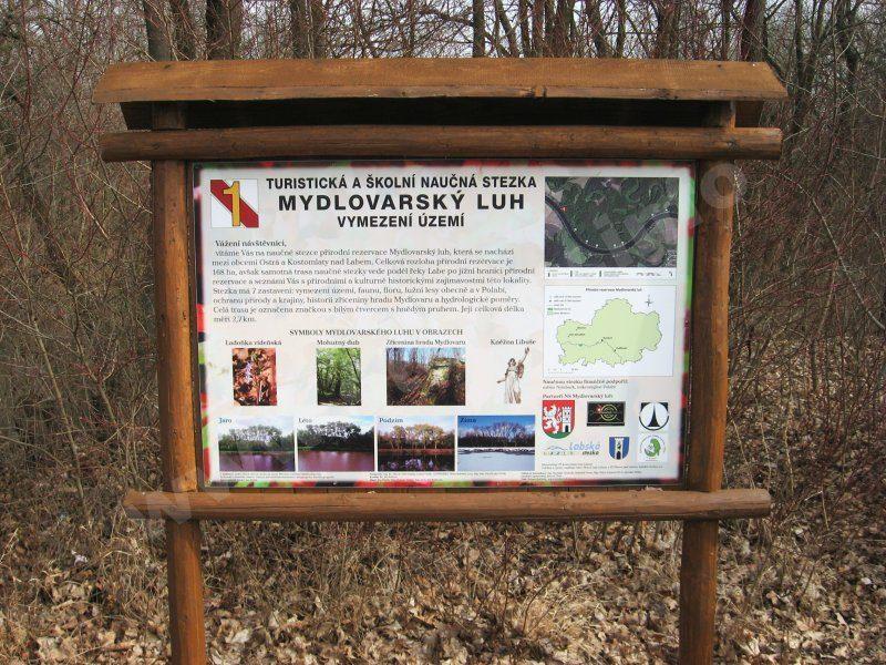 naučná stezka Mydlovarský luh