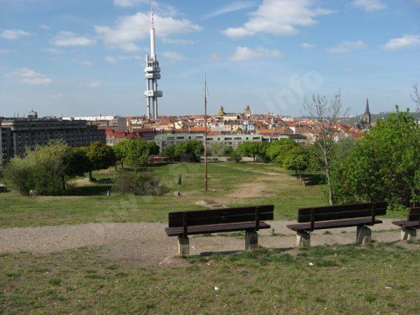 park na vrchu Svatého Kříže