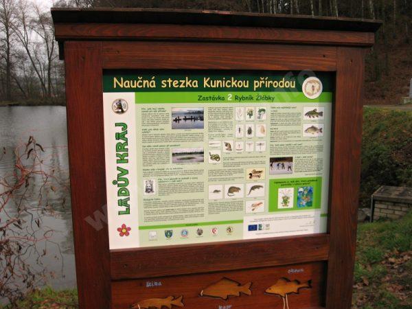 otevření naučné stezky Kunickou přírodou