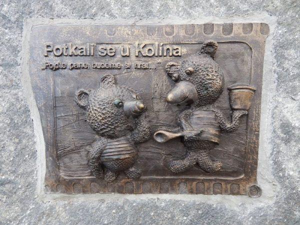 památník Medvědů u Kolína